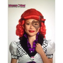 Hermoso Disfraz Opereta Monster High Con Peluca