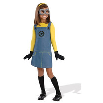 Disfraz Minion Para Nina Mi Villano Favorito Halloween Fiest