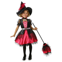 Disfraz Brujita Niña Barbie Bruja Halloween
