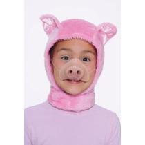 Tamaño Forum Novelties Niño Animal Costume Pink Piglet Hood