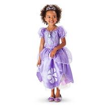 Vestido Princesa Sofia Original Disney Store Disfraz