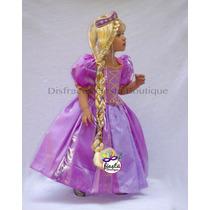 Peluca Fina De Rapunzel !! Princesa Ariel Sofia Valiente