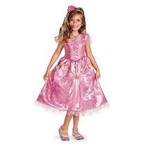 Disfraz Bella Durmiente Aurora Sparkle Deluxe Niñas Traje 4-
