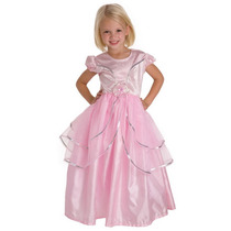 Poco Aventuras Real Princesa Rosada X-large (edades 7-9)