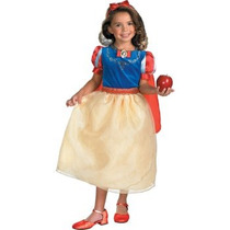Disfraz De Blanca Nieves Para Niñas, Princesas, Snow White