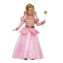 Vestido Princesa Rosada De Vestuario