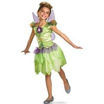 Disfraz De Tinkerbell, Campanita Para Niñas, Envio Gratis