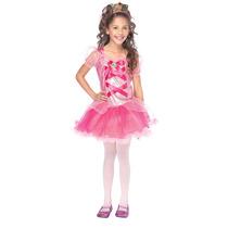 Vestido Princesa Rosa Disfraz Niña Leg Avenue C48137