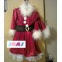Disfraz De Santa Claus Niña