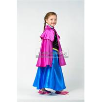 Disfraz Estilo Anna Frozen
