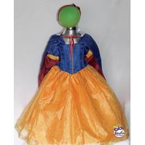 Disfraz De Princesa Sofia Rapunzel Bella Valiente Blanca Nie