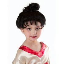 Peluca De Japonesa, Kimono Geisha Para Niñas, Envio Gratis