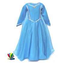 Disfraz Vestido Elsa Frozen Modelo Disney