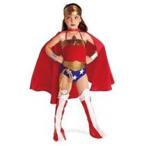 Disfraz Mujer Maravilla Niña Halloween