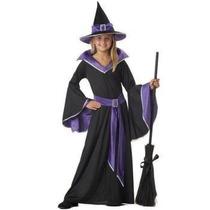 Disfraz Incantasia Bruja Niña Halloween Brujita