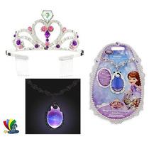 Princesita Sofia Original Disney Store Amuleto Corona
