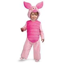 Disfraz Cerdito Cochi Niño Niña Bebe 12 18 Meses Piglet Pooh
