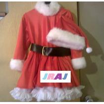 Disfraz De Santa Claus Para Niña