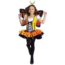 Disfraz Mariposa Niña Mariposita Primavera Halloween