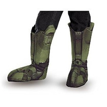 Jefe Maestro Disfraz Boot Niño Cubiertas De Vestuario