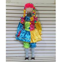 Disfraz Muñeca De Trapo Disfraces Payasa Payasita Pastorelas