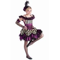 Oferta Disfraz Retro De Can Can Bailarina 6-8 Para Niñas
