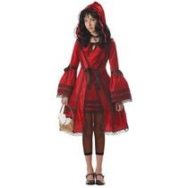 Disfraz De Caperucita Roja Para Niñas Y Adolescentes