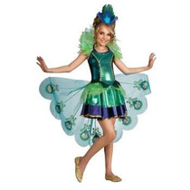 Disfraz Pavo Niña Pavorreal Halloween