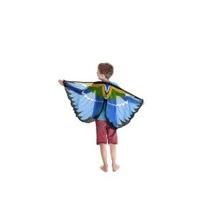 Soñador Vestido-ups Tit Azul Del Pájaro Alas