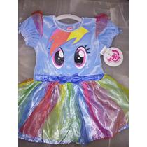 Disfraz Rainbow Dash My Little Pony T 3 Hermoso Disfraz Pony