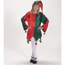 Disfraz De Ayudante De Santa Claus, Navidad, Duende, Niñas