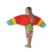 Niño Pájaro Costume Accessory Loro Alas Encuadre De Cuerpo E