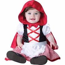 Disfraz De Caperucita Roja Para Bebes Envio Gratis