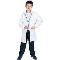 Rg Disfraces Capa Del Laboratorio Del Doctor Niño Medio / Ta