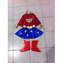 Disfraz De Mujer Maravilla.