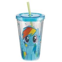 Vandor 42114 My Little Pony Rainbow Dash 18 Oz Acrílico Copa
