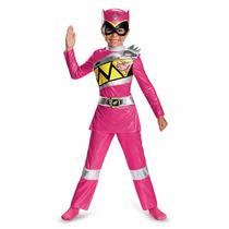 Oferta Unica! Disfraz De Power Ranger Rosa 3-4 Para Niñas