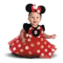 Disfraz De Bebé Para Niñas Mi Primera Red Minnie Minnie Cost