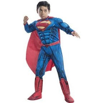 Disfraz De Superman Niño Entrega Inmediata Man Of Steel
