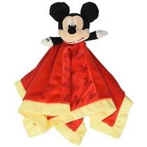 Disney Bebé: Mickey Mouse Snuggle Blanky Por Niños Preferido