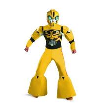 Botarga Disfraz Transformers Prime Bumblebee Niños Maa