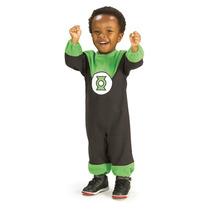 Disfraz Para Niño Linterna Verde Talla 6/12 Meses Ndd