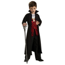 Disfraz De Vampiro, Dracula Para Niños, Miedo, Envio Gratis