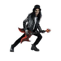 Disfraz De Rockero Zombie, Slash Para Niños, Envio Gratis