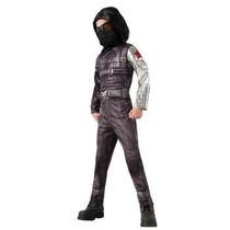 Oferta Disfraz De Winter Soldier Capitan America Niños 12-14