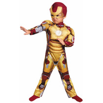 Disfraz Iron Man Bebe Original Talla 2 Años Entrega Inmediat