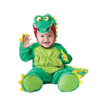 Disfraz Bebe Cocodrilo Niño Niña Halloween Lagarto