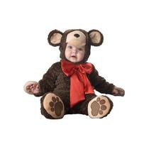 Disfraz Bebe Oso Niño Niña Halloween Osito Peluche