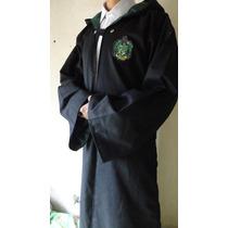 Disfraz Harry Potter Slytherin Draco Malfoy Cosplay Gabardin