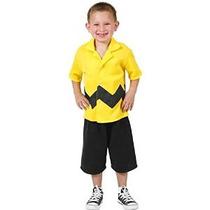Niño Charlie Brown Traje De Niño (tamaño: 2-4t)
